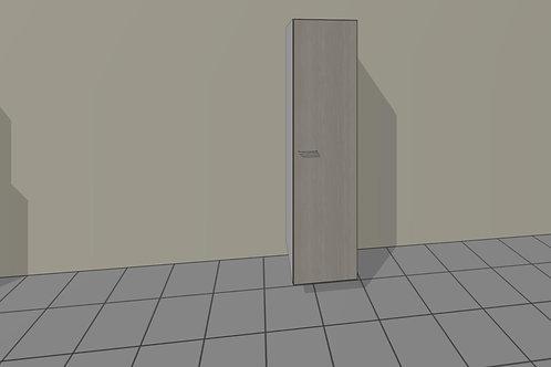 7 Shelve (450 mm Wide) 1 Door Right x 2300 MM High