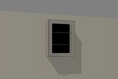 Wall 1 Glass Door 550 mm Right Hand x 720 MM High