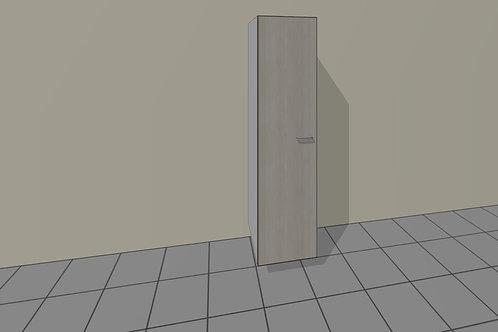 7 Shelve (550 mm Wide) 1 Door Left x 2300 MM High
