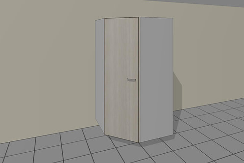 Tall Kitchen 1050 mm Corner Pantry 1 Door 1920 MM High