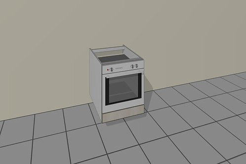 Under Counter Oven (600 mm Wide) Base Unit x 720 MM High