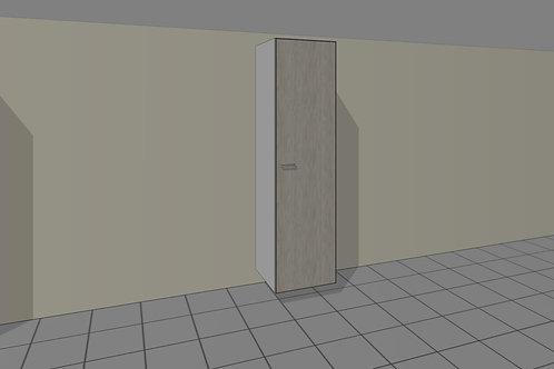 Double Hang (550 mm Wide) + 1 Door Right x 2300 MM High