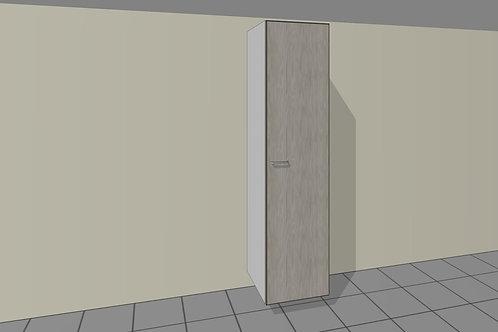 5 Internal Drawers 450 mm Wide 1 Door Right + Shelves x 2300 MM High