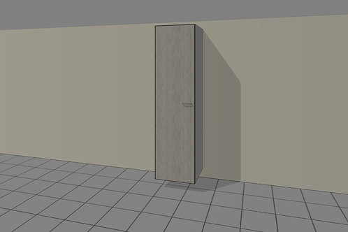 Double Hang (550 mm Wide) + 1 Door Left x 2300 MM High