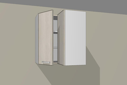 Wall 2 Door L Corner 600 mm Wide x 720 MM High