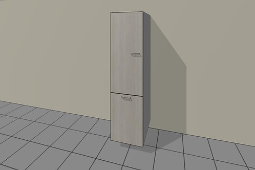 Tall Kitchen Broom + Integrated Dustbin Left Hand 1920 MM High x 500 MM Wide