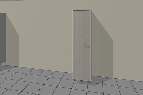Tall Kitchen 450 mm Broom 1 Door Left Hand 1920 MM High
