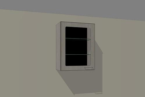Wall 1 Glass Door 600 mm Left Hand x 720 MM High