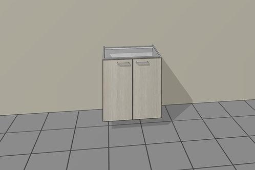 2 Door (1100 mm Wide) Base Unit x 720 MM High