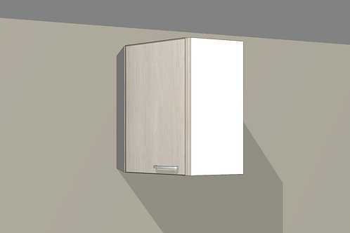 Wall 1 Door Corner Diagonal Left 600 mm Wide x 720 MM High