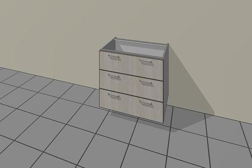 3 Drawer (700 mm Wide) Base Unit x 720 MM High