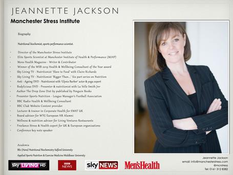 GUEST BLOG BY JEANNETTE JACKSON