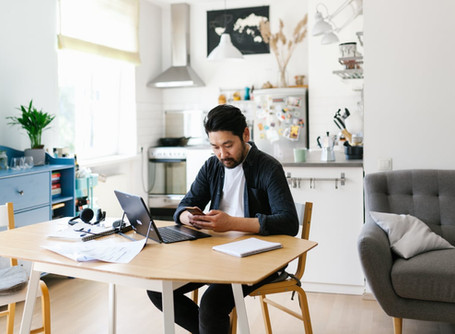 TOP TIPS TO WORK FROM HOME