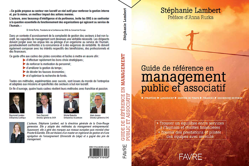 Management associatif public gestion méthodes managériales