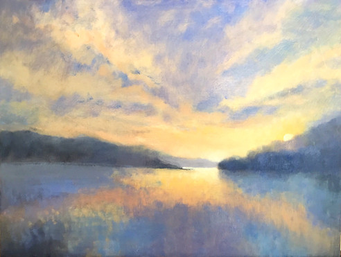 'Salcombe sunrise' SOLD