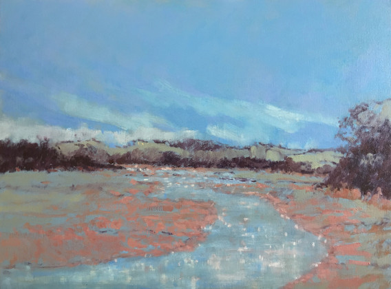 'Holcombe Creek towards Salcombe' £360