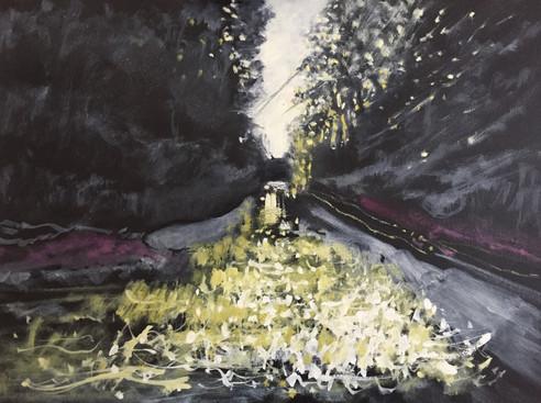'Light breaks on the river 2'  £340