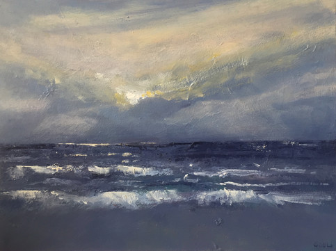 'Sun after the storm' £280 54x44