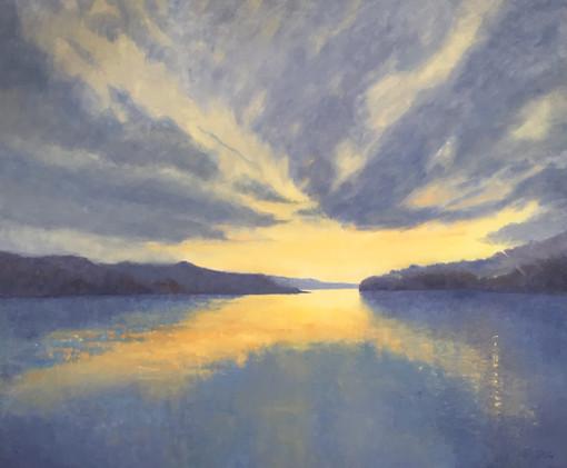 'Salcombe sunrise' £1,200