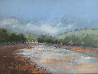 'Heat of the day, Bowcombe Creek'