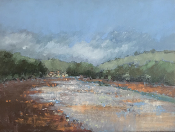 'Heat of the day, Bowcombe Creek' £360