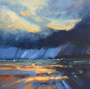 Polzeath, sun and storm SOLD