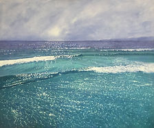 'Breath of fresh air', oil on canvas, 12