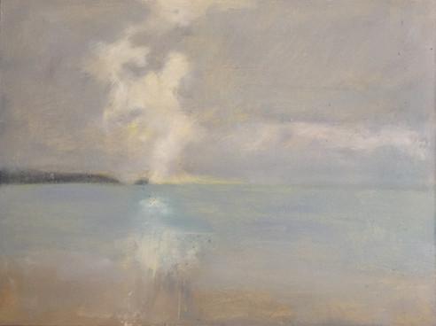 'Hallelujah' oil on panel £340