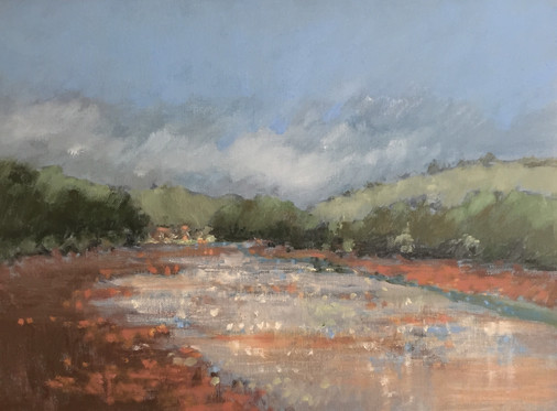 'Heat of the day, Holcombe Creek' £395