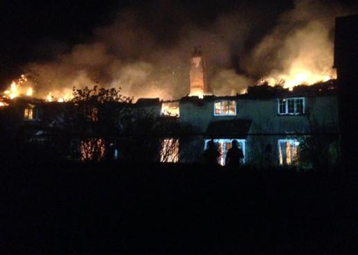 Tillhouse fire