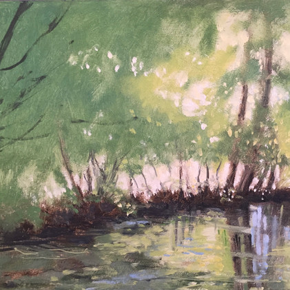 'Down by the riverbank' £80