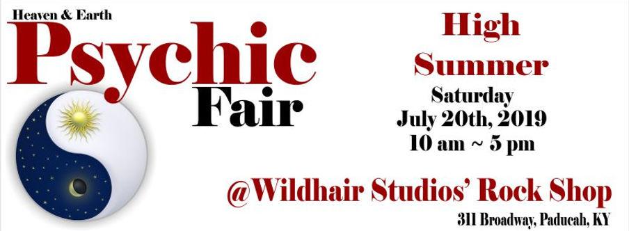 psychic-fair | Rock Shop | Paducah, KY |Wildhair Studios