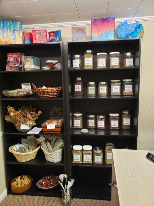 Magickal Bulk Herb section