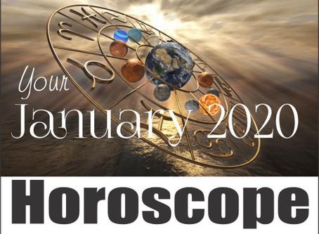 January 2020 Horoscope At a Glance