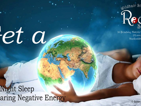 Get a Great Night Sleep by Clearing Negative Energy
