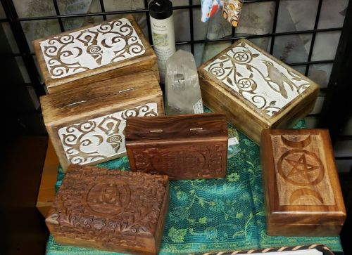 Tarot | Oracle Wooden Treasure boxes