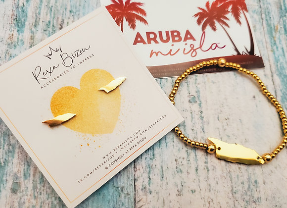 Amor pa nos Isla set (Earring & Bracelet)