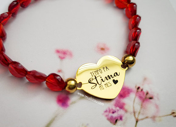 """Tempo pa Stima mi Mes"" Bracelet"