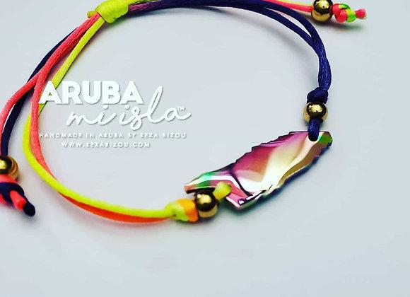 Aruba mi Isla Multicolor Cord Bracelet