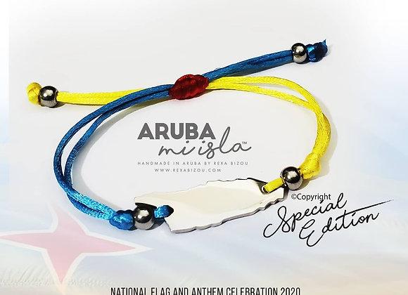 Aruba mi Isla Flag Color Special Edition