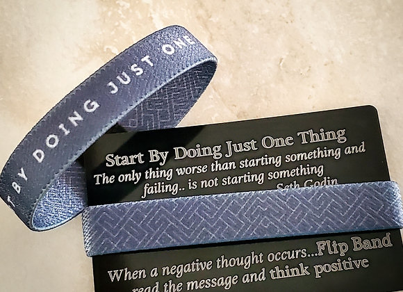 Start By Doing Just One Thing