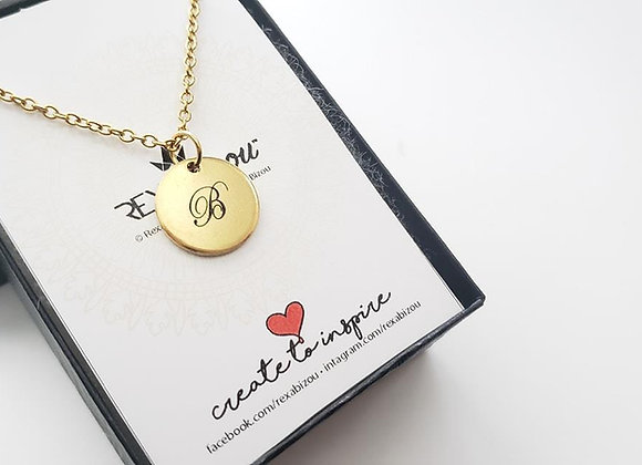 Custom engraved Necklaces
