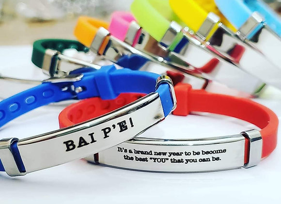 Silicone and Steel Bracelets