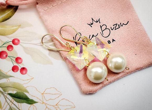 Pearl Dot Earring