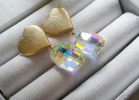 Bold Love Earring