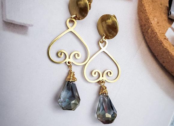 Chandelier Crystal Earring