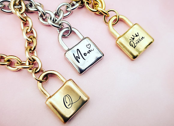 Padlock Bracelet for Mom