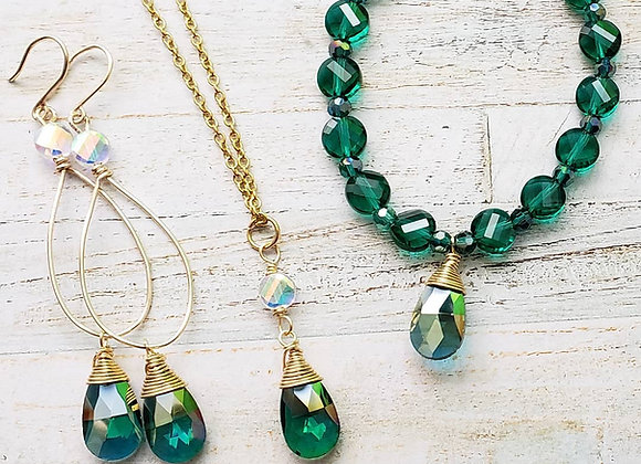 Emerald Green Set