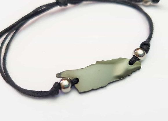 Aruba mi Isla Black Cord Bracelet