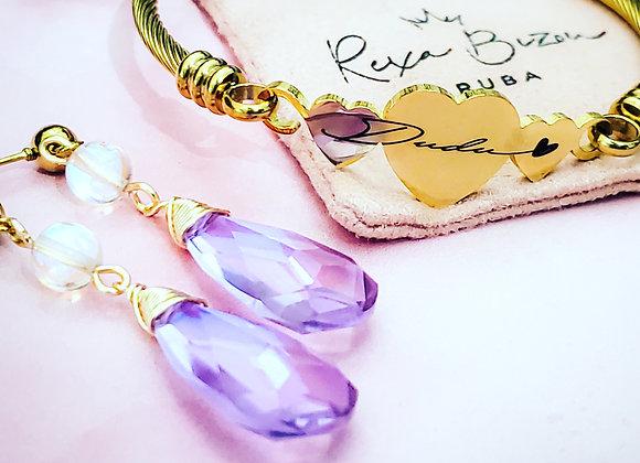 Dudu Set of Earring & Bracelet